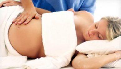 масаж за бременни