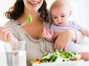 Кърмене и диета