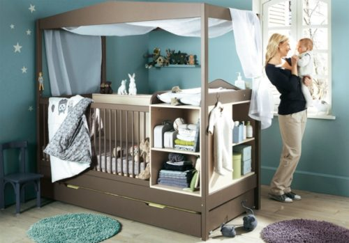 леглото на бебето