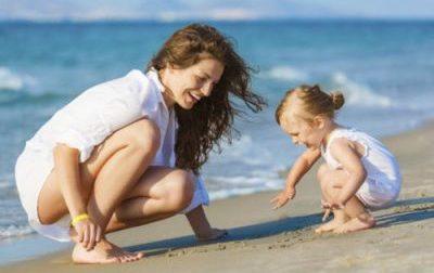 На море с бебе