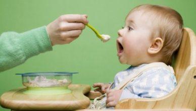 Захранване на бебето