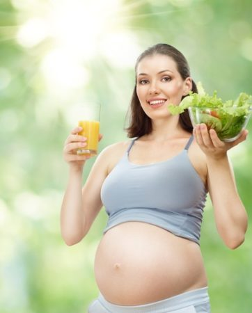бременност и вегетарианство
