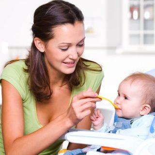 хранене на бебето по месеци