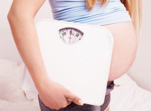 Наднормено тегло по време на бременност