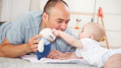 ролята на бащата при отглеждане на бебето