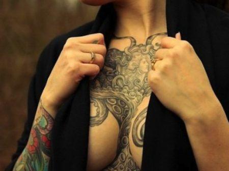 Кърменето и татуировките