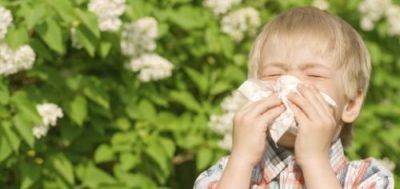 алергия при децата