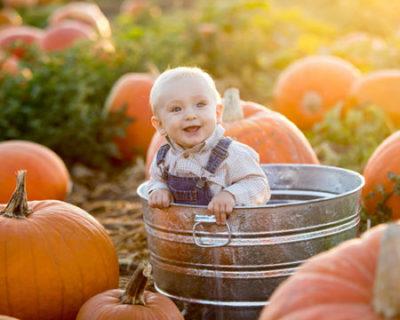 Хранене на бебето през есента храни за имунитет