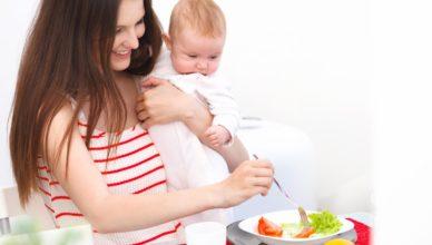 Кърмене и диетите - дали трябва да се ограничаваме и с какво