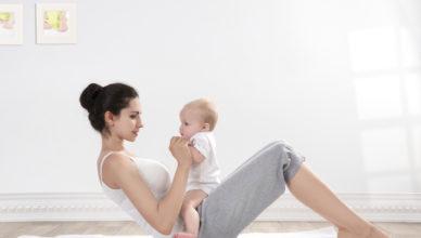 Да влезем във форма след раждането