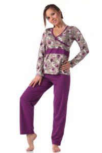 дамска пижама за кърмене