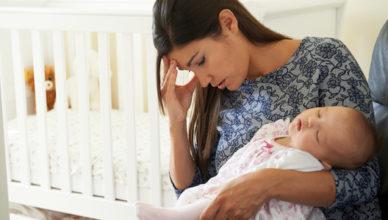 Кърменето и състоянието на депресия след отбиването на бебето