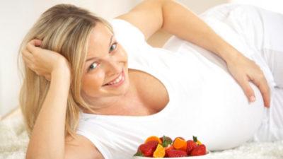 Хранителните навици на една бременна жена