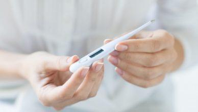 измерване температура след раждането