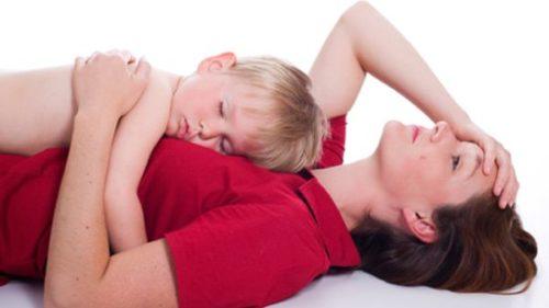 burnout при майките