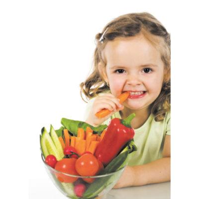 здравословните хранителни навици на малките деца