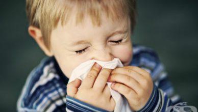 Симптоми на грип при деца