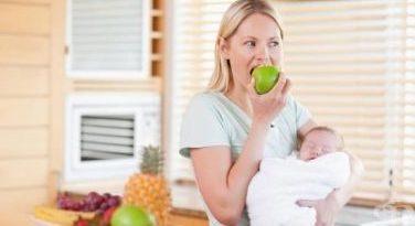 Хранене по време на кърмене